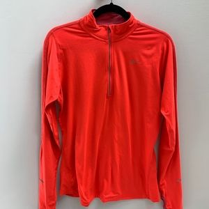 Nike Element Dri-Fit Running Top Crimson (size L)